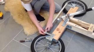 كيف تصنع سيارة بدون محرك بأدوات بسيطة في المنزل انصحك بالمشاهدة how to build a car for your kids