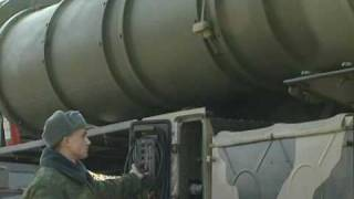 S-400 SA-21 Triumf surface-to-air missile system firing in action Russia Russian army RIA Novosti