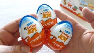 Kinder JOY Surprise Eggs for BOYS