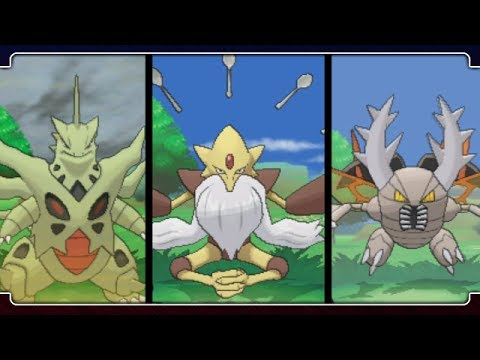 Pokemon X and Y All Mega Evolutions