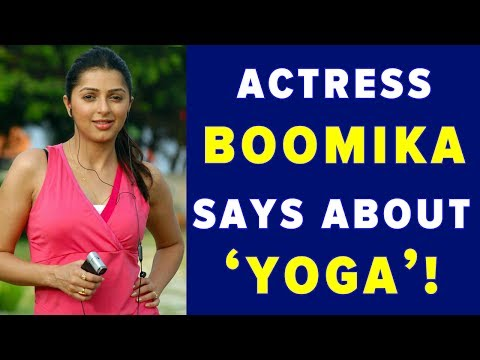 Actress Boomika Says about