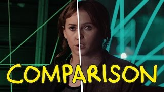 Rogue One: A Star Wars Story Trailer - Homemade Side by Side Comparison