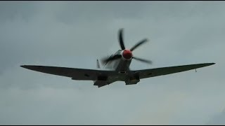 RAF BBMF Supermarine Spitfire PR Mk XIX PS915 Take-Off at London Southend Airport