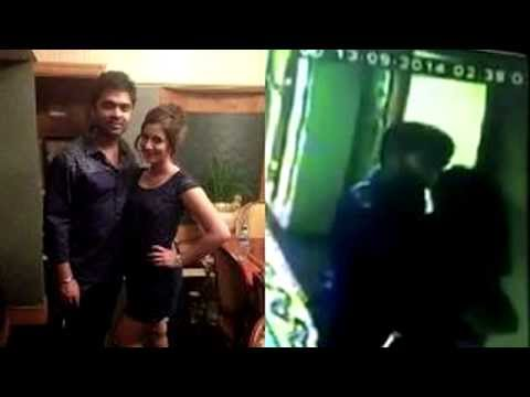 Actor Simbu, Kannada Actress Harshika, lip lock kiss - A new sensation - RedPix-24x7
