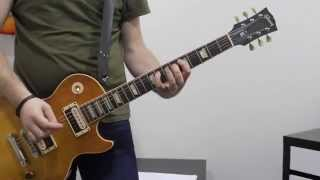 The Handler by Muse - Guitar Tutorial, Lesson, How to Play