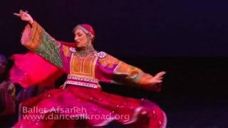 Afghan Loghari dance- Homayoun Sakhi, Salar Nader & Mariam