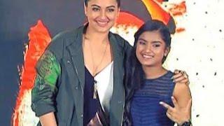 Sonakshi Sinha launches 'Rajj Rajj Ke' from her upcoming film 'Akira'