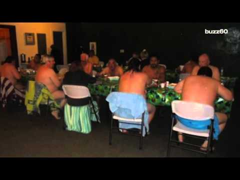 Nudists banned from working out in the buff