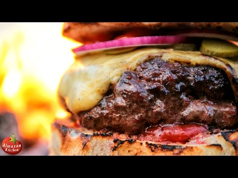 MOST.EPIC.CHEESEBURGER Stone Fried in the Forest