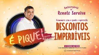 É Pique! Aniversário Renato Saraiva - Aproveite 40% OFF* em todos os cursos