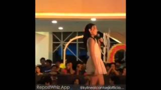 Kyline Alcantara Singing