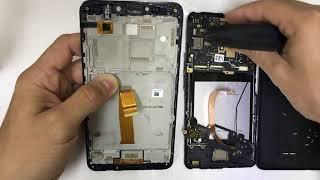 Alcatel PIXI Theatre 4G - How to Take Apart & Replace LCD Glass Screen Replacement