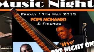 Pops Mohamed & Friends 'live' @ The State Theatre