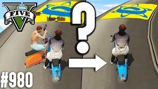 WIE GEHT DAS? Das Rennen UNSICHTBAR fahren (+Download)| GTA 5 - Custom Map Rennen