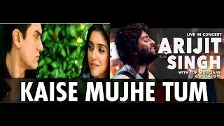 Arijit singh live HD | Kaise mujhe tum mil gayi | ghajini