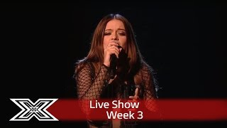Emily Middlemas puts her own spin on a Whitney classic | Live Shows Week 3 | The X Factor UK 2016
