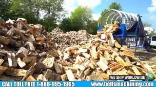 8000 Series Circular Saw Firewood Processor