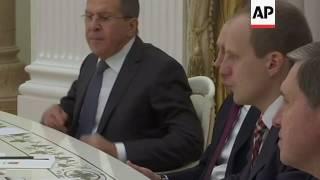 Putin meets German FM Sigmar Gabriel