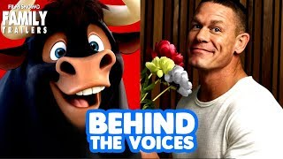 FERDINAND | Behind the Voices of the family animated comedy