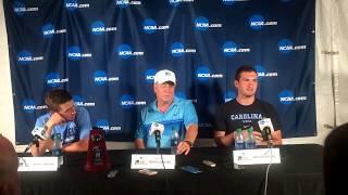 North Carolina Press Conference - 2017 NCAA Championship