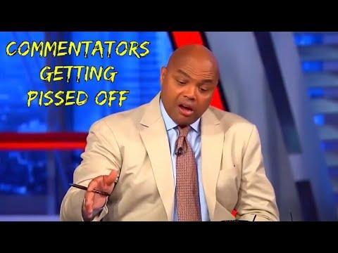 Commentators getting Pissed Off