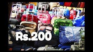 Luggage market in delhi | travel bag market in delhi | travel bag wholesale market