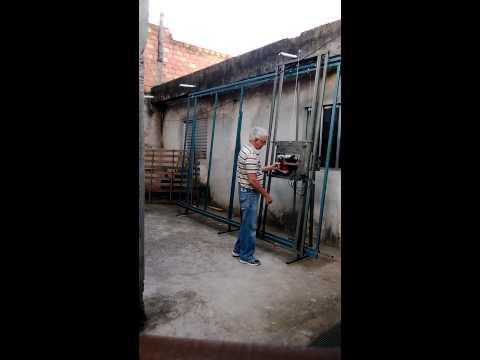 Seccionadora vertical caseira Morales