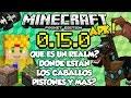 Minecraft pe 0 15 0 build 1 apk - realms - y los pistones y nuevos mobs - pocket edition
