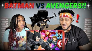 "CartoonHooligans ""BATMAN vs AVENGERS"" REACTION!!"
