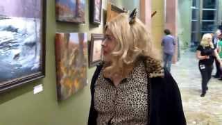 Pussy in a Gallery