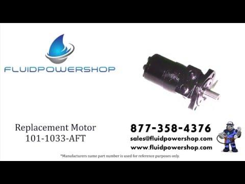 AFTERMARKET 101-1033 HYDRAULIC MOTOR - FITS CHAR-LYNN ® / EATON ® 101-1033-009