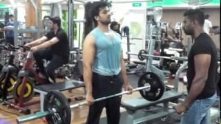 Actor Unni Mukundan Gym Workout Part 1 2015