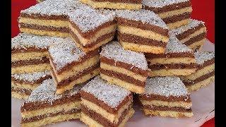 حلويات العيد/ حلوى الطبقات الاقتصادية والسهلة بالمربى وبدون زبدة هشيشة تدوب في الفم