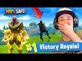 THANOS *TROLLING* in Fortnite: Battle Royale! (Can