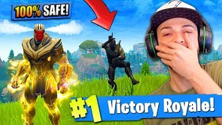 You CAN'T BE KILLED if you do *THIS* in Fortnite: Battle Royale!