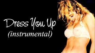 MADONNA - Dress You Up (Instrumental w/ Backing Vocals)