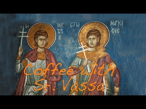 Coffee with Sister Vassa Ep.8 (Marcian&Martyrius/Oct25)