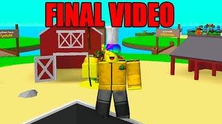 This Is My Final ROBLOX EGG HATCHING SIMULATOR Video.. Here