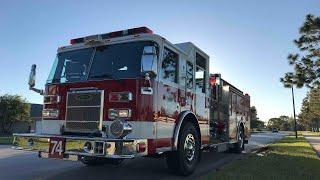 VCEMS Evac & POFD Engine 75 Responding