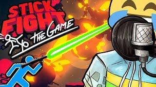 MEGA STARKE WAFFEN 😈😂 | Stick Fight: The Game | Glymmus #1