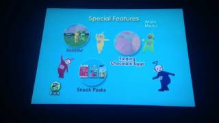 Teletubbies Oooh DVD Menu Walkthrough