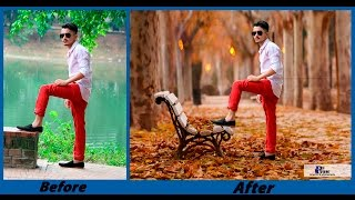 Photoshop CC - Background Change and Photo Retouch Tutorial - August 2016