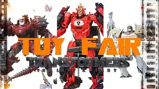 TOY FAIR! -TRANSFORMERS THE LAST KNIGHT DISCUSSION PT 33