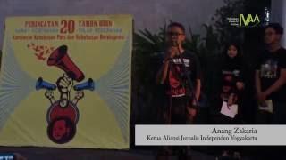 #DokumentasiIVAA: Tolak Kekerasan Rawat Kebebasan