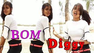Bom Diggy_Zack knight_Sonu ke titu ki sweety - Dance_cover_by - Renu_Indian college girl Dhamaka