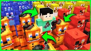 Minecraft FNAF Hide and Seek - WHO is the Real FREDDY?
