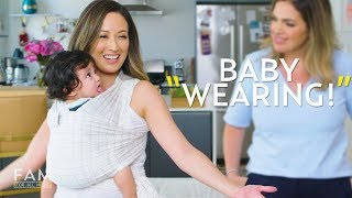 Baby Wearing Wraps: Solly Baby, Moby Wrap, and More!   FAM: For All Moms