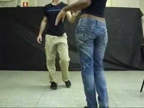 Vídeo dança de salão Dois Um movimentos iniciantes