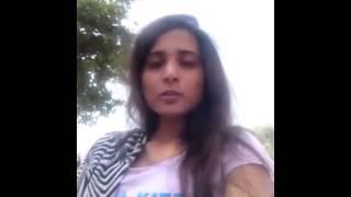 Girl Praposed a boy in punjabi n teesing him to talk to him