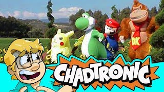 Nintendo Mascot Commercials